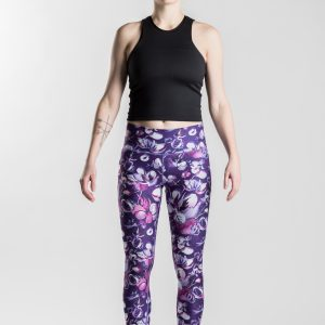 Snowbed willow – Gironlasta lily leggings
