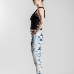 Silver birch – Soahki blue leggings