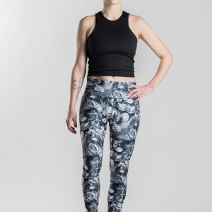 Snowbed willow – Gironlasta black leggings