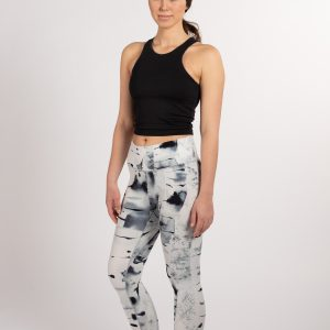 Silver birch – Soahki black leggings