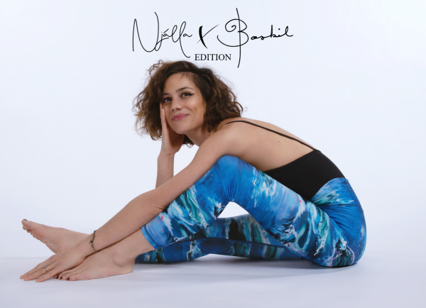 ethically made sustainable njalla x boskil edition with art by artist Manuela Bosco